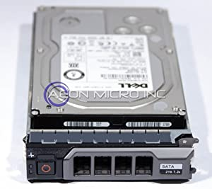 "Dell - 2 TB 7200 RPM Enterprise SATA 3.5"" Hard Drive for PowerEdge / PowerVault Systems. Equipped with tray. Mfr P/N: 2G4HM"