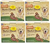 Nylabone Nutri Dent Filet Mignon 64ct Pantry Pack Large (4x16ct), My Pet Supplies
