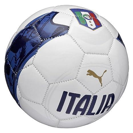 PUMA Mini Ball FIGC Fan - Balón de fútbol de Ocio, Color Blanco ...