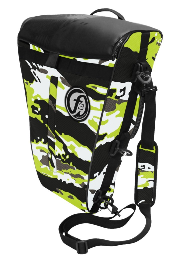 FeelFree Fish Bag: Medium - Lime Camo
