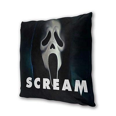 "NOT BRAND Scream Outdoor/Indoor Cushions 18.5""x 18.5"", 2 Pieces: Home & Kitchen"