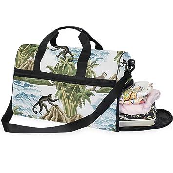 Dallonan Bolsa de Deporte para Hombres Grande Hawaiana ...