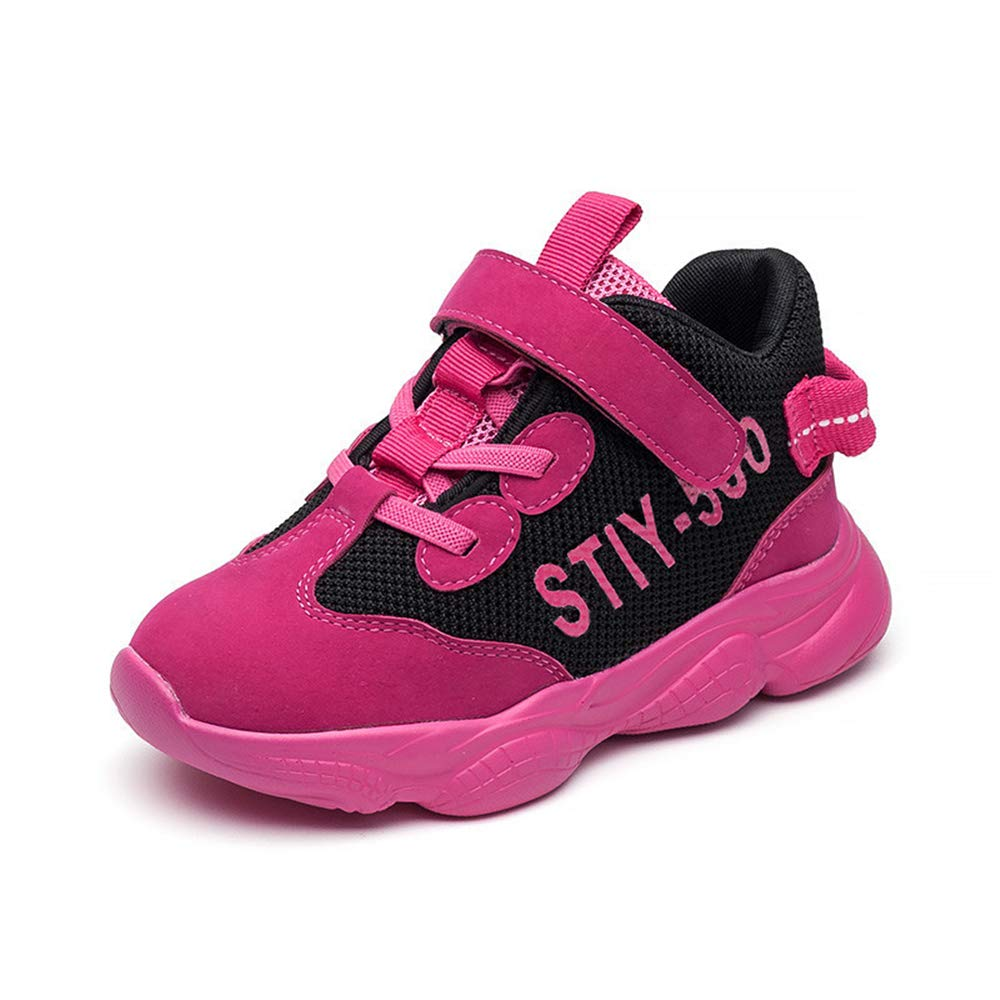 YUBUKE Toddler Fashion Sneakers Casual Sport Shoes with Cute Running Competitive Shoes