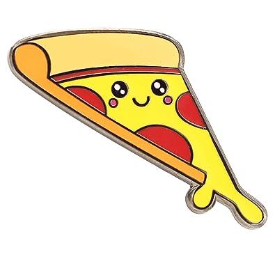 ea51fc512b61 Amazon.com  Real Sic Pizza Enamel Pin Cute Enamel Pin - Super Kawaii ...