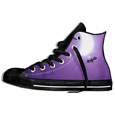 efbj halloween night unisex comfortable high top gym shoes trainers sneakers for men and women