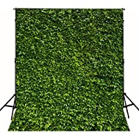 5x7ft Natural Green Lawn Party Photography Backdrop No wrinkles for Spring Background