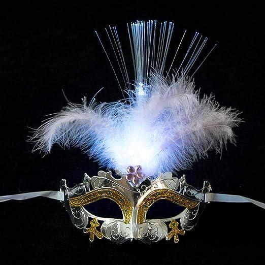 Mascara De Halloweenmáscara Veneciana Disfraz De Mujer Máscaras De ...
