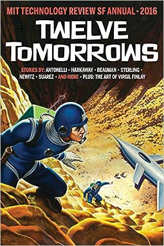 Twelve Tomorrows cover
