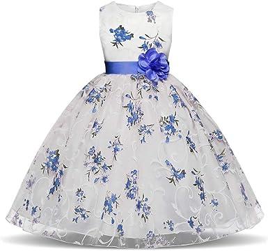 Vestiti Eleganti Bimba 7 Anni.Mbby Vestiti Cerimonia Bambina 7 11 Anni Vestito Da Carnevale Per