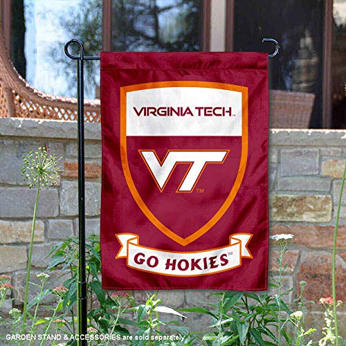 - College Flags and Banners Co. Virginia Tech Hokies Shield Garden Flag