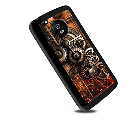 Amazon Com Steampunk Gears Motorola Moto G6 Soft Phone Case