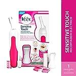 Recortador Eléctrico de Vello, Veet Sensitive Touch, Color Blanco para todo tipo de piel