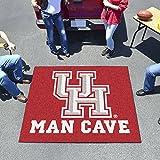 "Fan Mats Houston Man Cave Tailgater Rug 60""X72"""