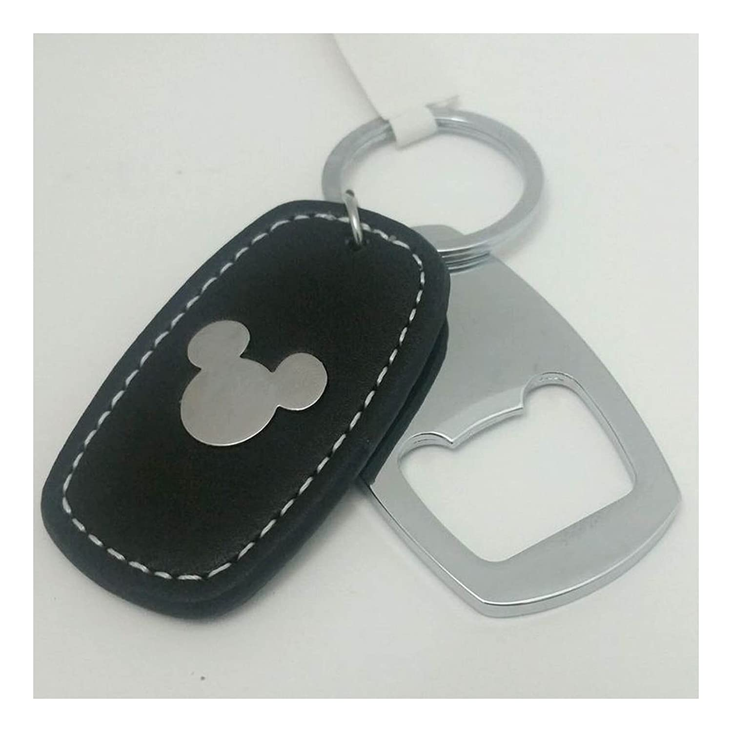 Disney Parks Keychain - Mickey Icon Bottle Opener