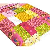 Dora Explorer Puppy Patchwork Full-Twin Bed Bedding Comforter by Nickelodeon