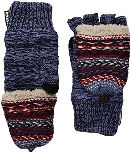 Dark Luks Mittens Muk Women's Blue Flip w417nfncq