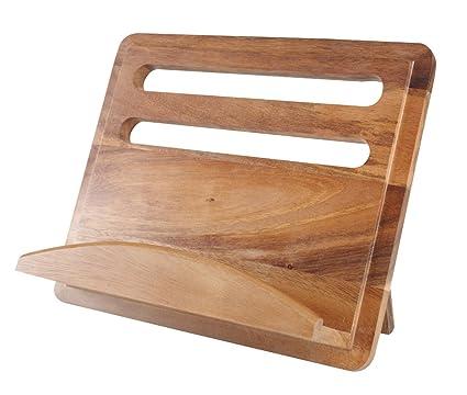 Acacia T&G Gift Range - Leggio da cucina, in legno: Amazon.it: Casa ...