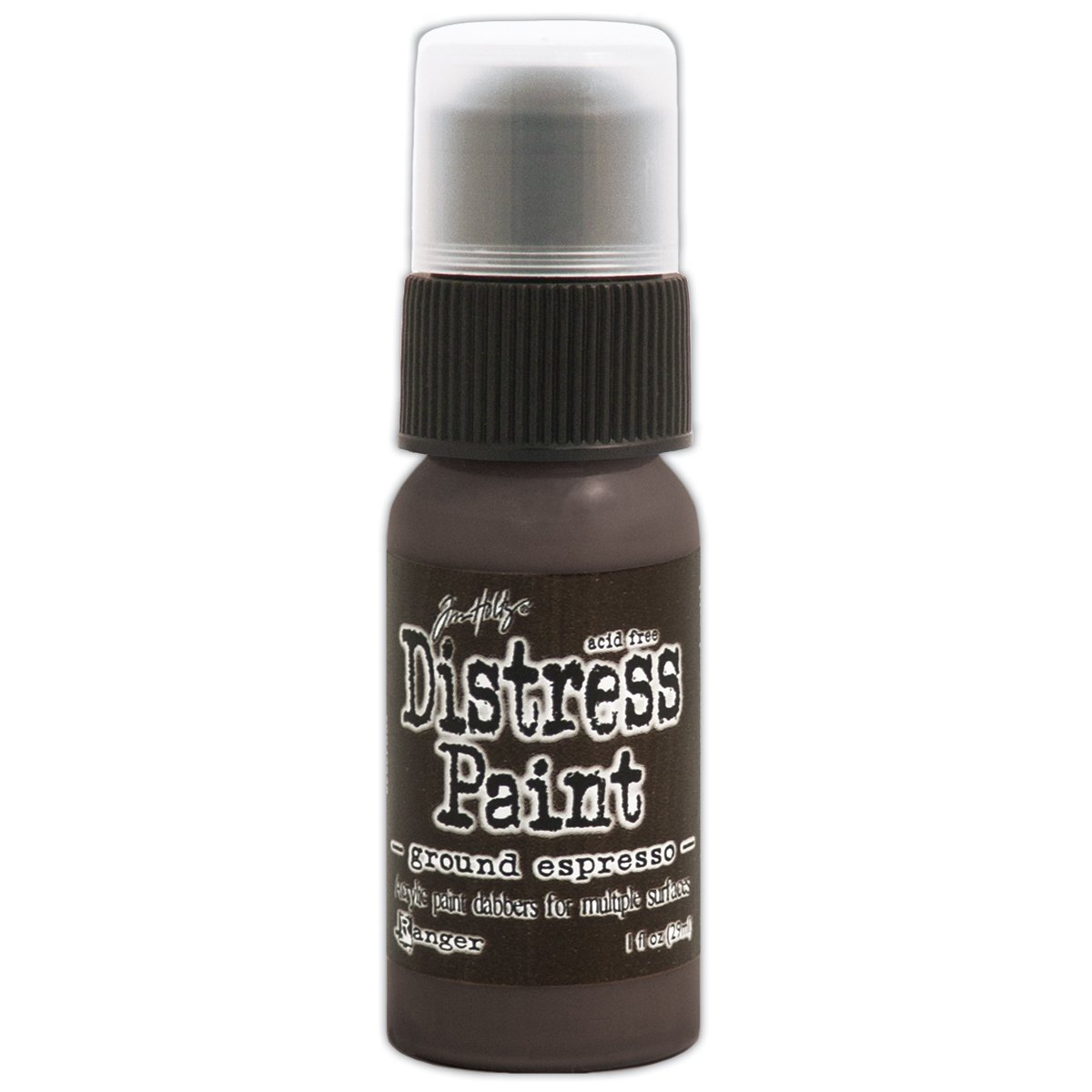 Ranger-Tampone colorato Distress 1 oz-Ground Espresso, altri Notions Marketing TDD-43638