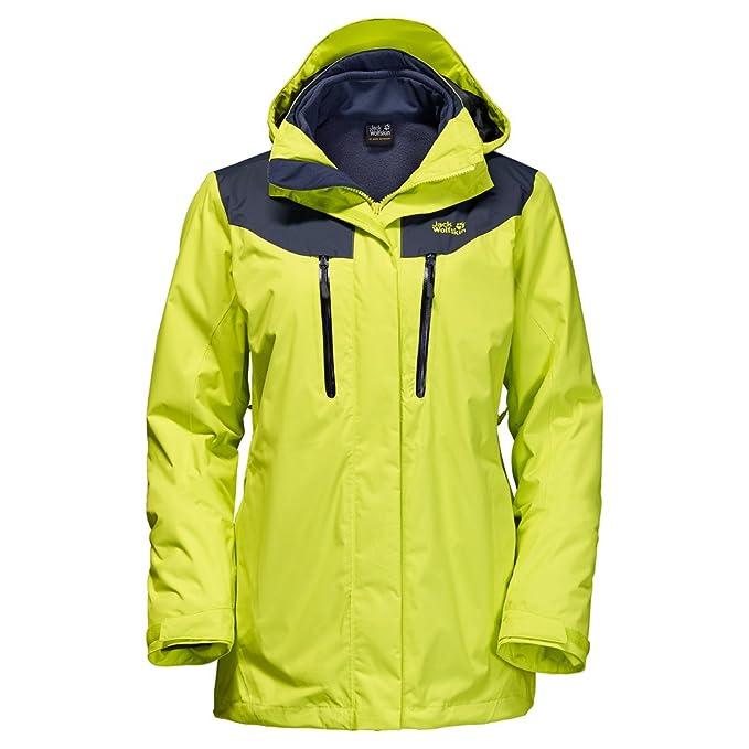 Amazon.com: Jack Wolfskin Jasper de la mujer 3-in-1 chaqueta ...