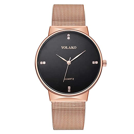 Luxury Watches for Men DYTA Business Watches with Stainless Steel Case Alloy Strap Under 10 on