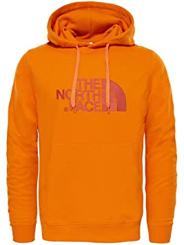 The North Face M Light Drew Peak Sudadera, Hombre, Naranja (exuberanceornge), XS: Amazon.es: Deportes y aire libre