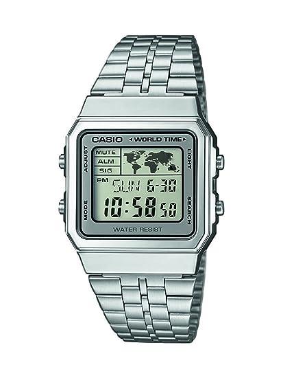 6aa315bf9d21 Reloj Casio Collection para Hombre A500WEA-7EF  Casio  Amazon.es  Relojes