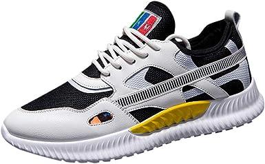 LuckyGirls Chic INS Zapatillas de Deporte para Hombre, Zapatillas de Deportes Hombre Mujer Zapatos Deportivos Aire Libre para Correr Calzado Sneakers Gimnasio Casual 39-44: Amazon.es: Ropa y accesorios