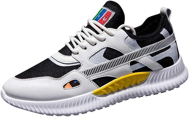 ZARLLE_ Hombre Zapatillas 2019 Hombres Zapatos Casuales,ZARLLE Tendencia Zapatos de Viaje,Transpirable Zapatos para Correr,colchón de Aire Zapatos Deportivos,Modelos Salvajes Zapatos voladores: Amazon.es: Zapatos y complementos