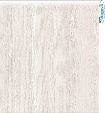 ARTESIVE WD-001 Roble Blanco Mate 30 cm x 2,5 MT. - Película Adhesiva