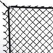 12' High X 10\' Wide Golf Barrier & Containment Netting, #15 Nylon Netting, Perimeter Rope Strung, Golf, Baseball, Softball, Hockey, Lacrosse, Soccer, Basketball, Tennis, Multipurpose