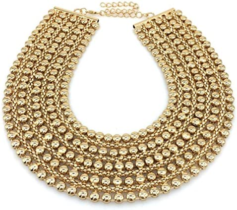 MANILAI Chunky Statement Necklace Jewelry product image