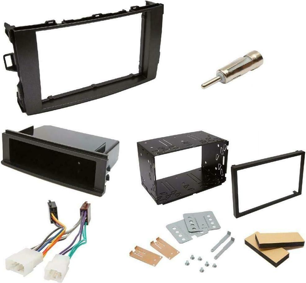 Inex Toyota Auris Double DIN Facia Fascia Fitting Kit Audio Stereo Adapter Plate