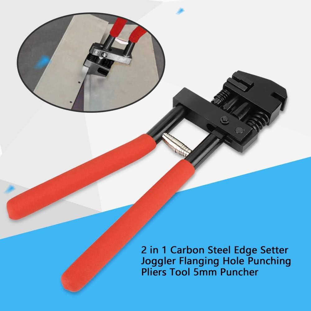 2 in 1 Pinza Bucatrice Puncher da 5 mm Pinza per Punzonatura a Foro Pinza per Punzonatura