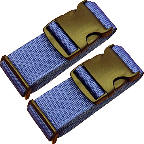 TRANVERS 2-Pack Luggage Strap For Suitcase Baggage Belt Travel Luggage Accessory