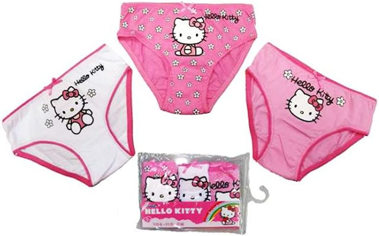 Hello Kitty - Braguitas - para niña Pack 2 92/98 cm: Amazon.es ...