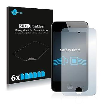 Savvies Protector de Pantalla para Apple iPod Touch 4. Generación [6 ...