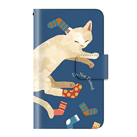 c79a2efba1 Amazon | アニマル 動物 癒し系(手帳型)【02.いたずら白ネコ】/ Xperia X ...