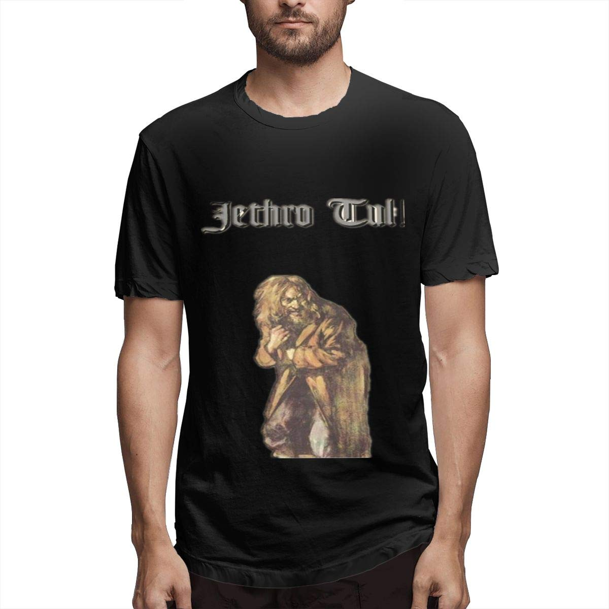 Lihehen Jethro Tull Aqualung Simple Casual Round Neck Shirts