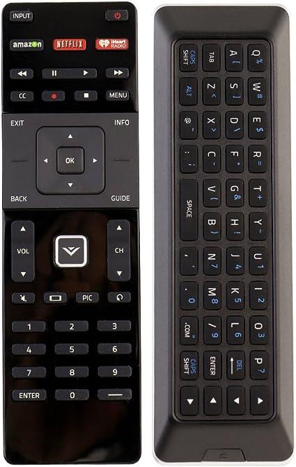 VIZIO Qwerty Remote XRT500 w Back-light for M602I-B3 M322I-B1 M422I-B1 M602I-B3