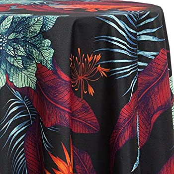 Amazon Com Hawaiian Tropical Fabric Tablecloth Hawaiian