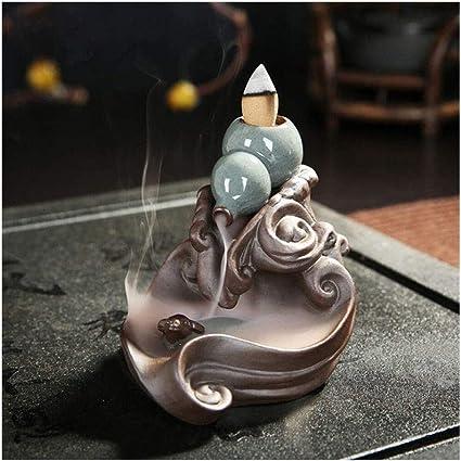 家庭用アロマディフューザー ひょうたんは、セラミック香香炉の滝ホームアロマシートを還流しました