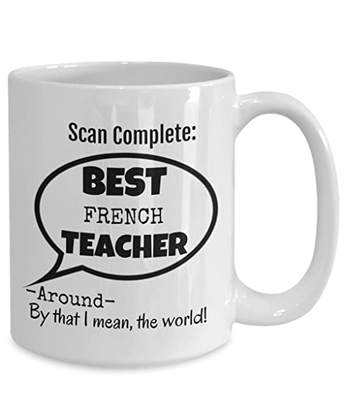european cup office coffee. Best French Teacher Gifts \u2013 Funny 15 OZ Coffee Mug Thank You For Male Female European Cup Office