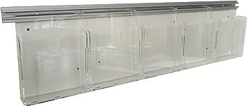 Misura 10x15x H12,5 cm Av/à srl Espositore per pelletteria in plex trasp a 1 ripiano