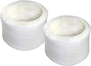 HQRP 2-Pack Wick Filter Works with Honeywell HAC-504 / HAC-504AW / 63-1508 / HAC504V1 Filter A Replacement HCM-300, HCM-500, HCM-600, HCM-700, HCM-1000, HCM-2000 Series Humidifiers