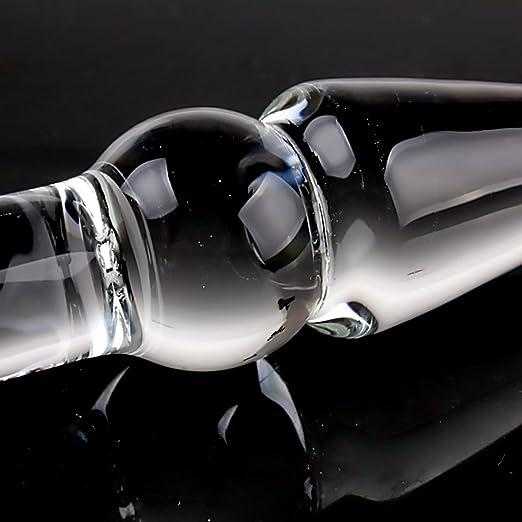 Amazon.com: utimi Butt plug para el sexo anal de vidrio ...