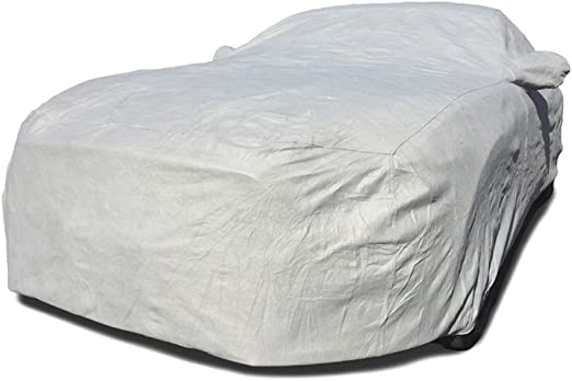 Black FS16230F5 Covercraft Custom Fit Car Cover for Select Lexus LS430 Models Fleeced Satin