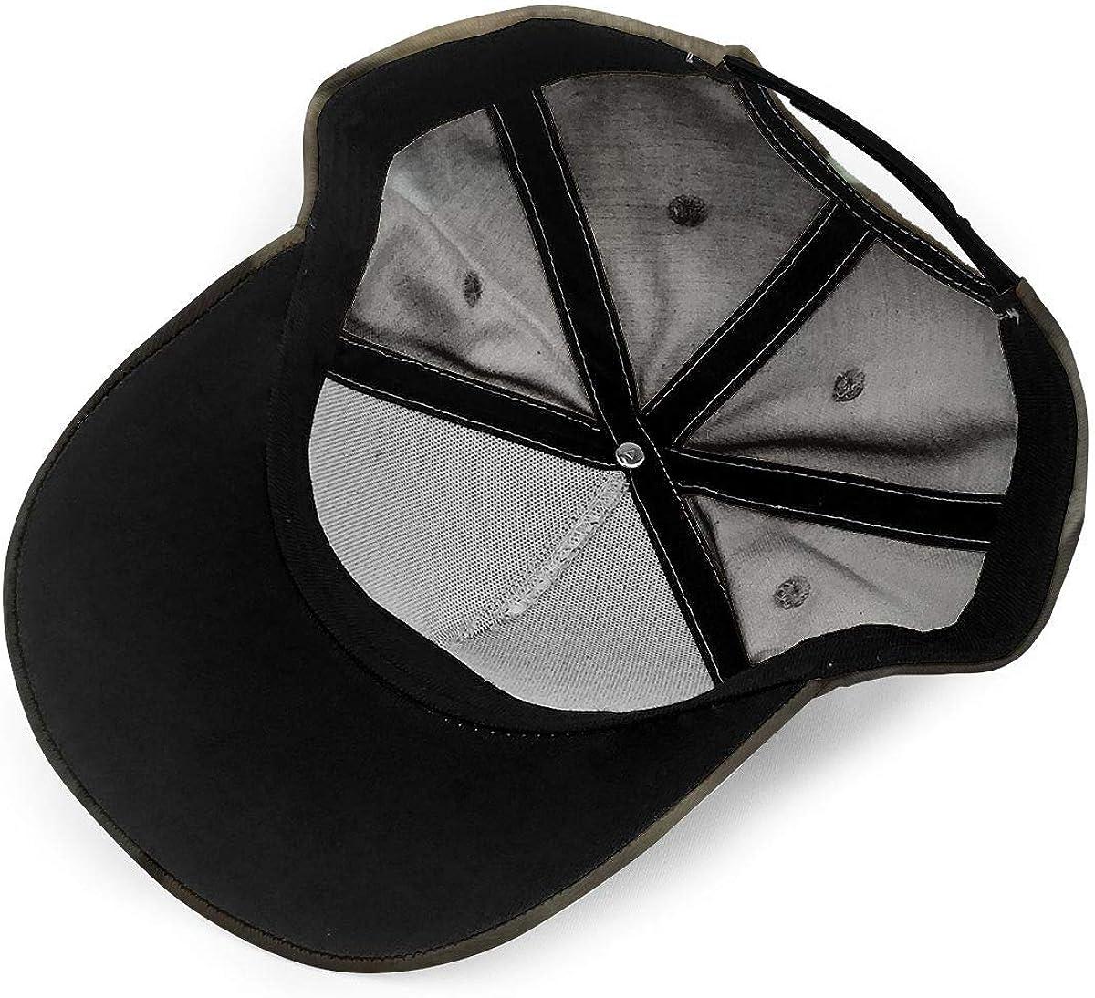 The Walk-Ing Dead Adjustable Cap Unisex Sun Hat Summer Uv Protection Outdoor Cap Black
