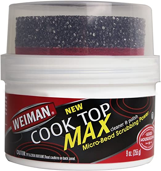 Amazon.com: Weiman Cook Top Max Limpiador y abrillantador 9 ...