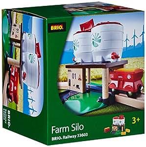 Brio 33603 - Silo de granja para pista de tren