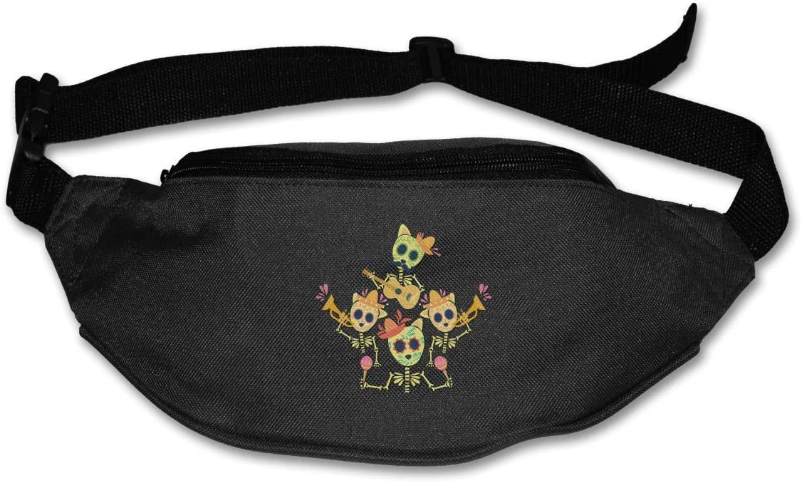 Waist Bag Fanny Pack Pizza Abduction Pouch Running Belt Travel Pocket Outdoor Sports
